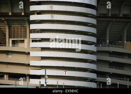 Ac milan stadium san siro - Stock Photo