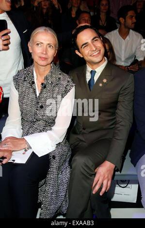 Berlin, Germany. 09th July, 2015.  American fashion designer Zac Posen at the Fashion Talent Award 'Designer For - Stock Photo