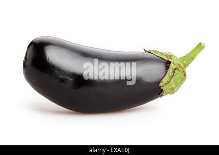 eggplant isolated Stock Photo