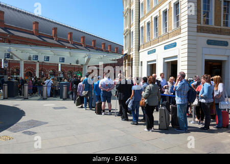 London, UK. 9 July 2015 - The biggest strike on the London Underground in 13 years is causing commuter chaos across - Stock Photo