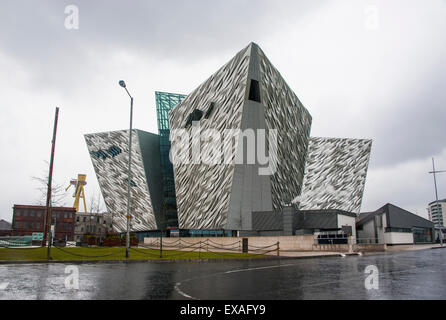 Titanic Museum, Belfast, Ulster, Northern Ireland, United Kingdom, Europe - Stock Photo