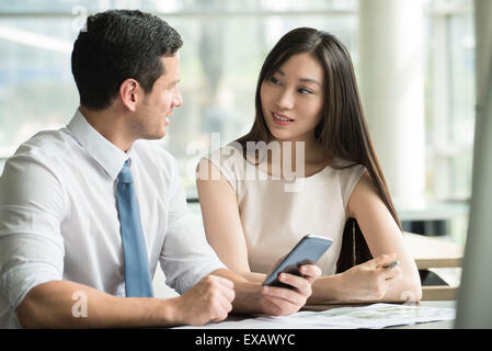 Business colleagues working together - Stock Photo