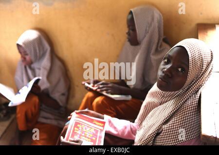 Islamic Primary School in  Nigeria - Stock Photo