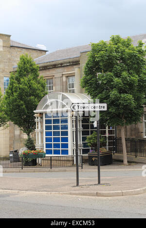 John Smith Pool In The Old Historical Building In Airdrie North Stock Photo Royalty Free