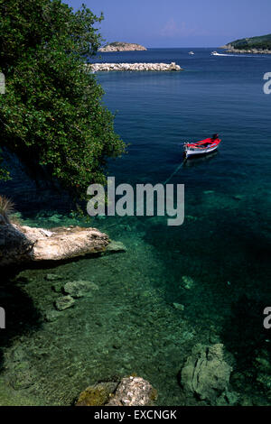 greece, ionian islands, kefalonia, atheras - Stock Photo