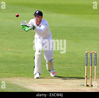 Cardiff, Wales, UK. 11th July, 2015. Jos Buttler of England during day four of the 1st Investec Ashes Test match - Stock Photo