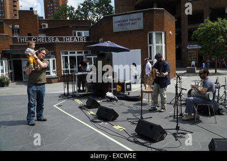 London, UK. 11th July, 2015. Hafla on the Square launches the first day of the Shubbak festival (Arabic Culture) - Stock Photo