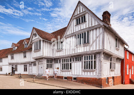 The Guildhall of Corpus Christi. Lavenham, Suffolk, England - Stock Photo