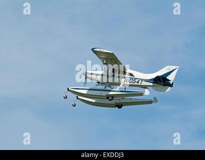 American built Maule M-7-260 Super Rocket N1054T light airplane at Inverness Scotland.  SCO 9932. - Stock Photo