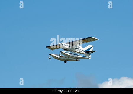 American built Maule M-7-260 Super Rocket N1054T light airplane at Inverness Scotland.  SCO 9946. - Stock Photo
