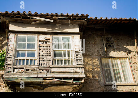 An old Ottoman style building in Turkey - Stock Photo