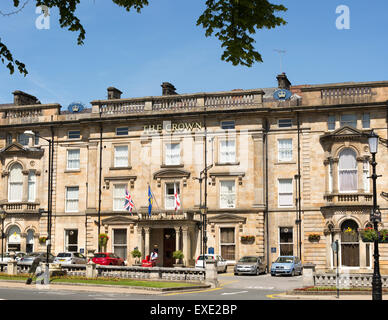 The Crown Hotel, Harrogate, Yorkshire, England, UK - Stock Photo