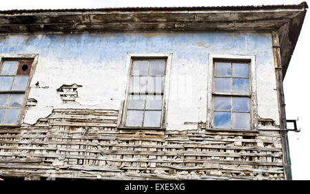An old derelict ottoman style house - Stock Photo