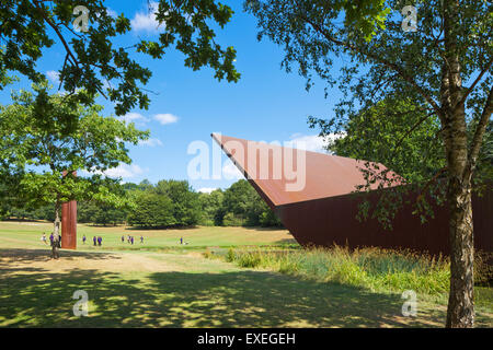 Crystal Palace concert platform. - Stock Photo