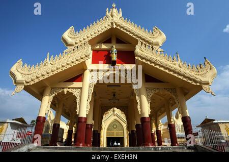 Maha Wizaya Pagoda, Yangon, Myanmar - Stock Photo