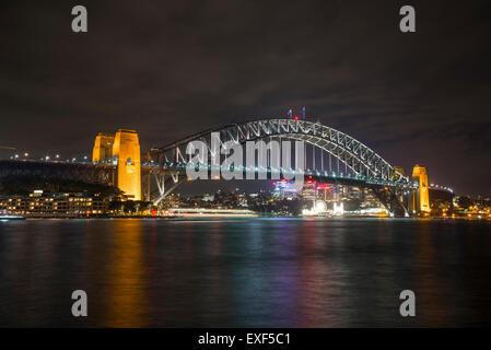 Harbour Bridge, Sydney, Australia - Stock Photo