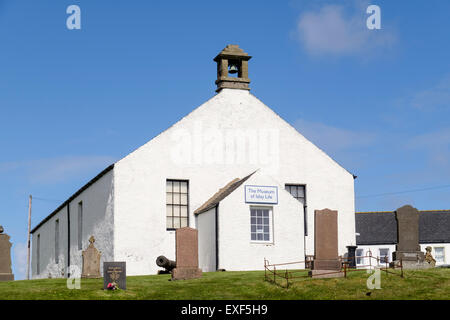 Museum of Islay Life in former church chapel building. Port Charlotte Isle of Islay Inner Hebrides Western Isles - Stock Photo