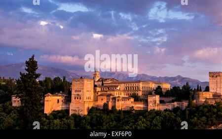 The Alhambra - Granada, Spain - Stock Photo