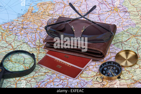 Travel Arrangement. Travel Concept - Stock Photo