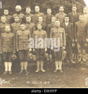 Conscientious Objectors at Camp Lewis, Washington, 1918 - Stock Photo