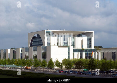 Federal Chancellor Building  Berlin Germany Europe - Stock Photo