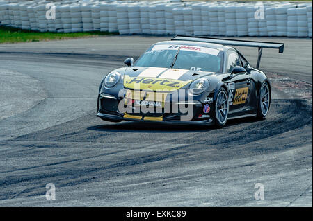 Bowmanville, CAN., 12 Jul 2015 - at the Mobil 1 SportsCar Grand Prix at Canadian Tire Motorsport Park - Mosport - Stock Photo