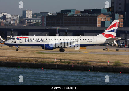 BA BRITISH AIRWAYS LONDON CITY - Stock Photo