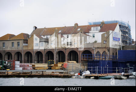 Shoreham Port West Sussex England UK - Stock Photo