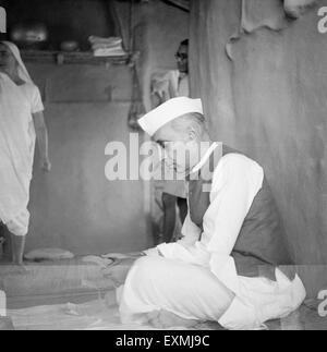 Pandit Jawaharlal Nehru NO MR - Stock Photo