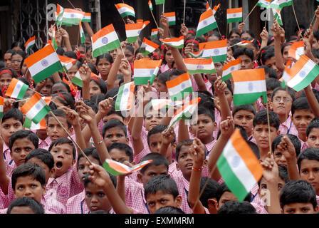 Happy school girls, Mumbai, India Stock Photo, Royalty ...