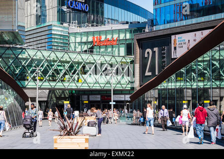 Westfield Stratford City shopping centre, London, England, U.K. - Stock Photo