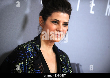 Marisa Tomei attending the 'Trainwreck' premiere at Alice Tully Hall on July 14, 2015 in New York Cityattend the - Stock Photo