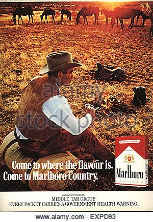 Pack cigarettes Marlboro America