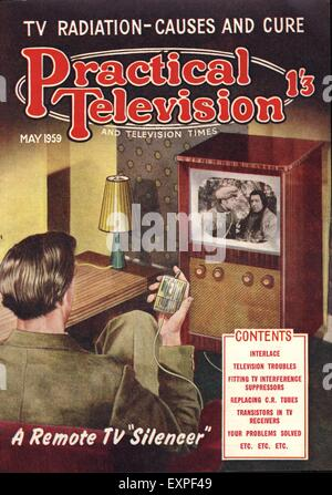 1950s uk do it yourself magazine cover stock photo royalty free 1950s uk practical television magazine cover stock photo solutioingenieria Images