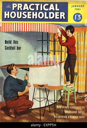 1960s uk home decorating magazine advert detail stock photo 1960s uk practical householder magazine cover stock photo solutioingenieria Images