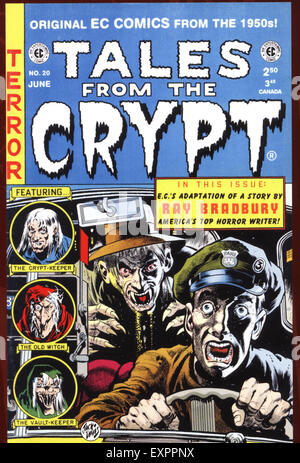 1950s USA Tales from the Crypt Comic/ Annual Cover - Stock Photo