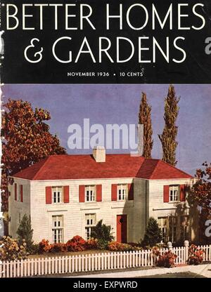 better home and garden magazine. 1930s USA Better Homes And Gardens Magazine Cover - Stock Photo Home Garden D