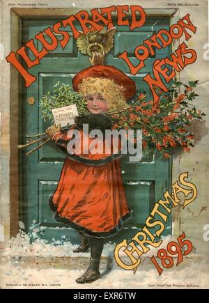 1890s UK NLI Magazine Cover - Stock Photo
