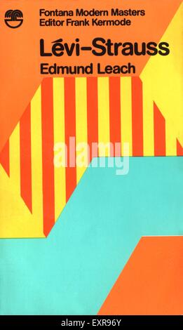 1960s UK Levi-Strauss Book Cover - Stock Photo