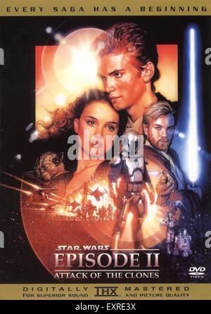 2000s UK Star Wars Film Poster - Stock Photo