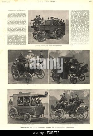 1890s UK The Graphic Magazine Cover - Stock Photo