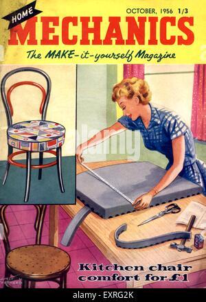 1950s uk home decorating magazine plate stock photo royalty free 1950s uk home mechanics magazine cover stock photo solutioingenieria Images