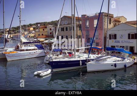 beautiful island of paxos,greece - Stock Photo