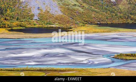 National Park Sarek, Sweden, Europe - Stock Photo