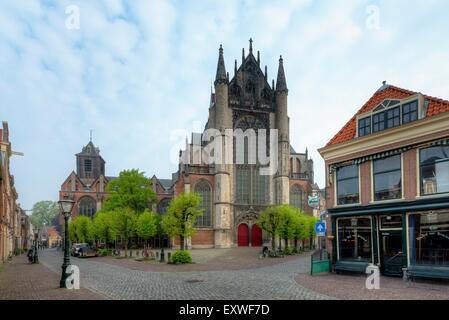 Hooglandse Kerk, Leiden, Netherlands - Stock Photo