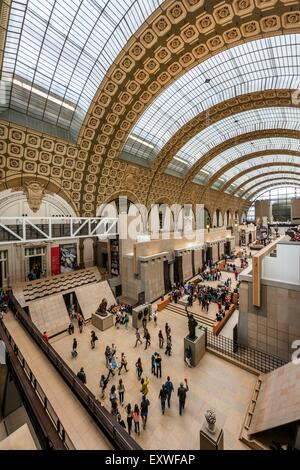 Musee d'Orsay, Paris, France, Europe - Stock Photo