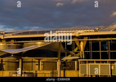 Airport, Heathrow, London, England, Great Britain, Europe - Stock Photo