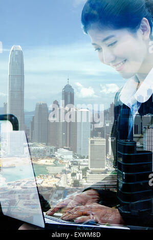 New Technology, Business Person, Business People, - Stock Photo