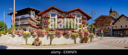 Soell, Tyrol, Austria - Stock Photo
