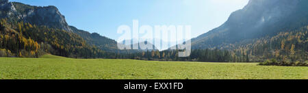 Mountain landscape, Styria, Austria, Europe - Stock Photo
